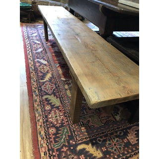 Modern Yellow Pine and Walnut Bench Preview