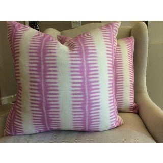 C & C Milano Zip-Zip Orchid Down Pillows - A Pair Preview