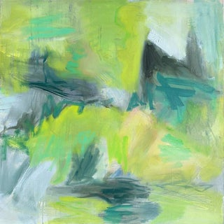 """Wetlands"" by Trixie Pitts Abstract Oil Painting For Sale"