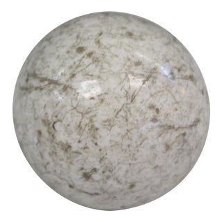 Victorian White Carpet Ball For Sale