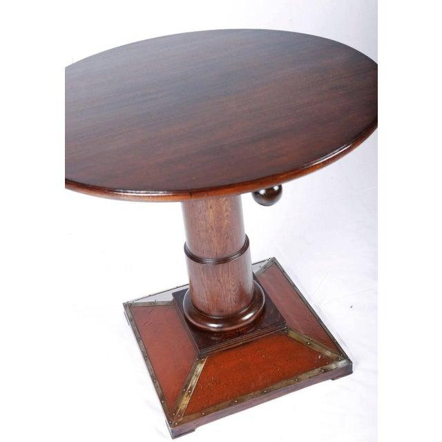 Art Nouveau Vintage Art Nouveau table For Sale - Image 3 of 7