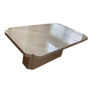 Contemporary Style Lacquered Dining Table For Sale