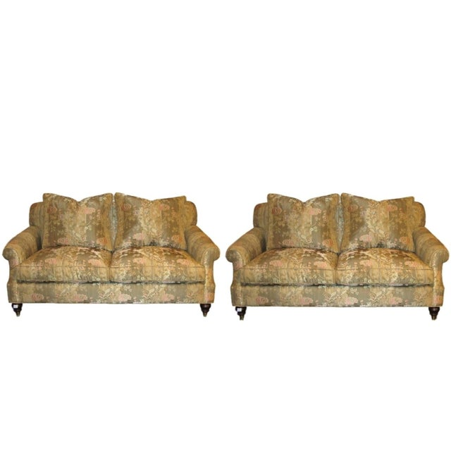 Edward Ferrell Signed Loveseats - A Pair - Image 1 of 4