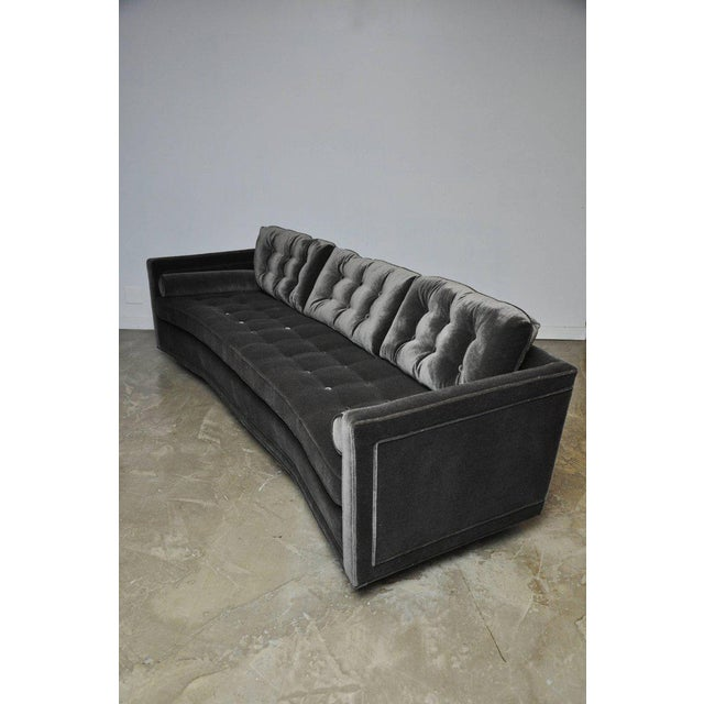 Mid-Century Modern Harvey Probber Curved Sofa For Sale - Image 3 of 7