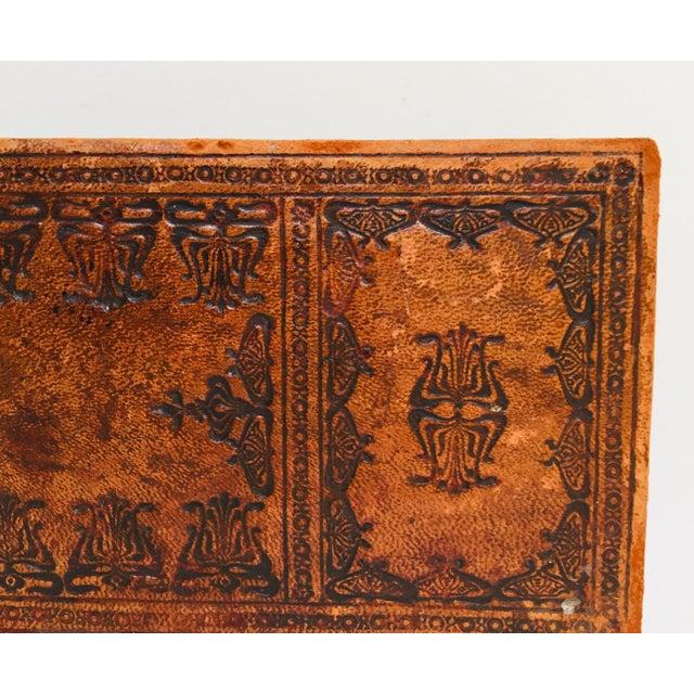 """French Antique Glove Box by """"A La Marquise De Sevigne Paris"""" For Sale - Image 11 of 12"""