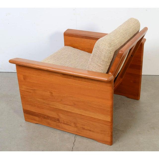 1970s Tarm Stole Mid-Century Danish Modern Teak Chair For Sale - Image 5 of 7