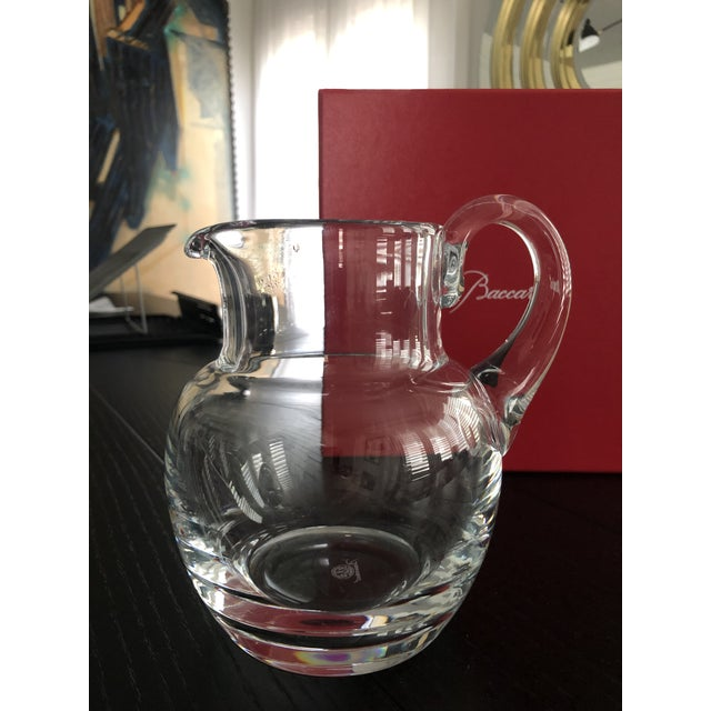 Contemporary Baccarat Mosaique Pitcher For Sale - Image 3 of 12