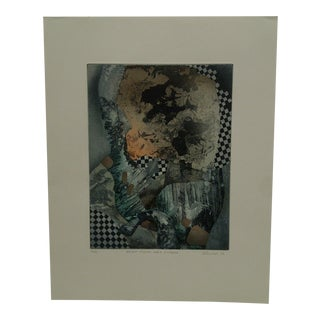 "1982 Perry Macon Oliver ""Bright Floors Grey Windows"" Print"