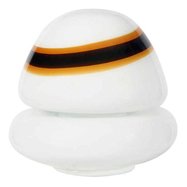 Vistosi Hand-Blown Murano Glass 'Mushroom' Floor Lamp For Sale