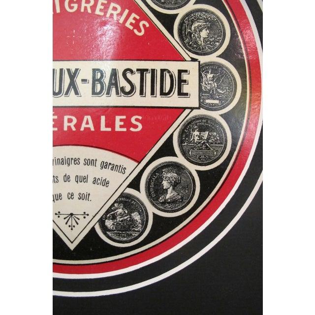 1930s French Art Deco Food Label, Vinegar - Image 4 of 4