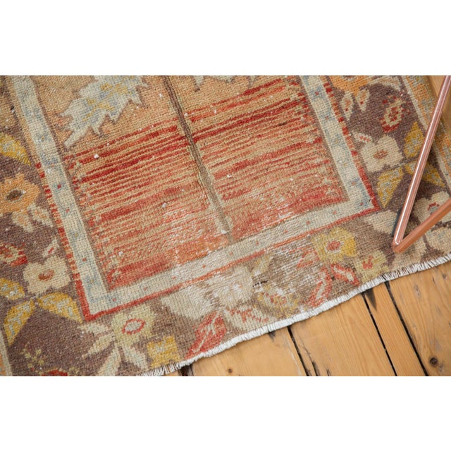 """Vintage Distressed Oushak Rug - 2'3"""" x 3'5"""" For Sale In New York - Image 6 of 10"""