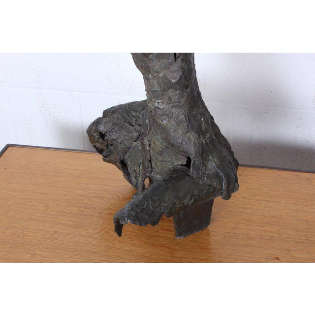 Bronze Sculpture by George Mallett, 1967 For Sale - Image 12 of 13