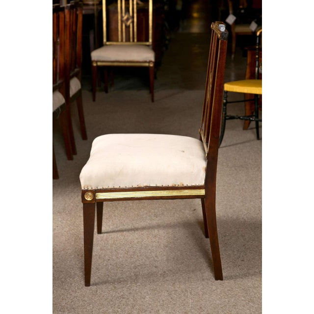 Russian Neoclassical Dining Chairs - Set of 11 For Sale - Image 9 of 9