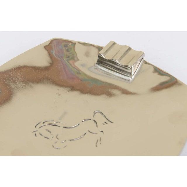 Vintage Wah Ming Chang Bronze Horse Ashtray - Image 4 of 7