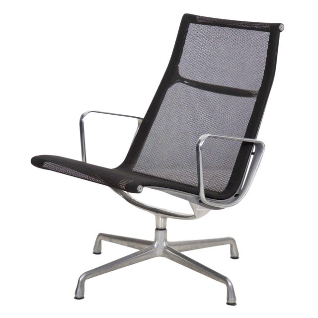 Charles and Ray Eames for Herman Miller Aluminum Group Lounge Chair For Sale