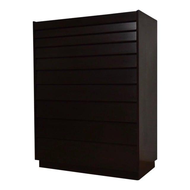 Edward Wormley for Dunbar Ebonized Dresser For Sale