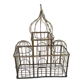 Indian Taj Mahal-Inspired Birdcage