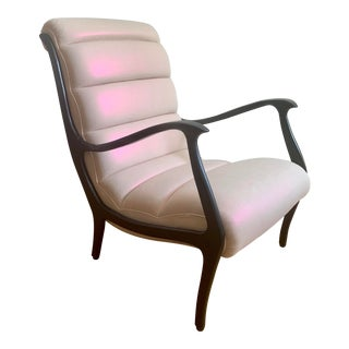 Restored Mid-Century Modern Italian Armchair For Sale