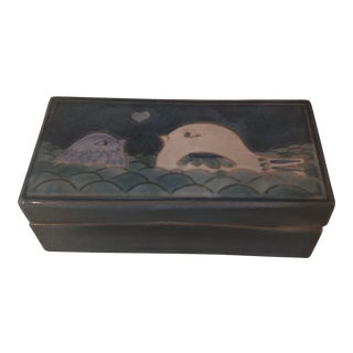 Robert & Jean Cloutier Ceramic Box