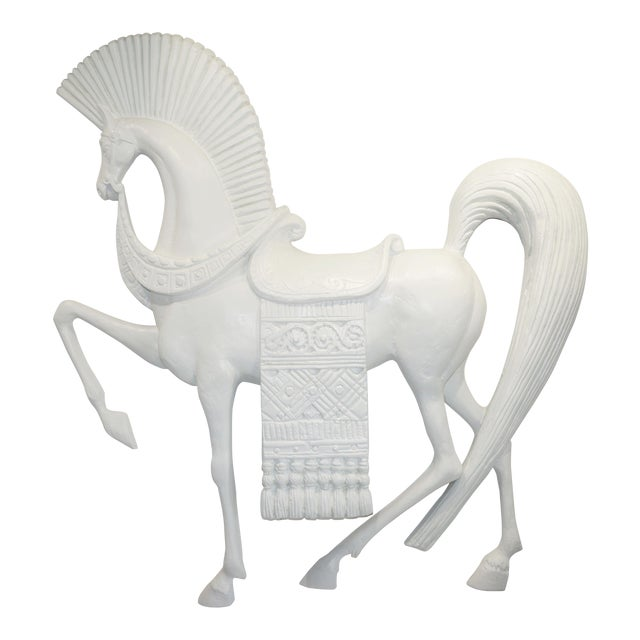 Standing Etruscan Horse in the Style of Frederick Weinberg For Sale