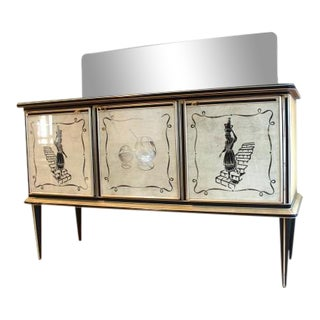 Umberto Mascagni Bar Credenza for Harrods London For Sale