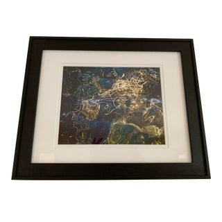 Pacific Northwest Abstract Photograph, Framed For Sale
