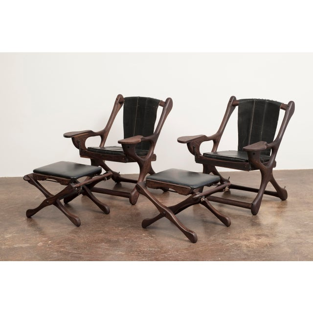Don Shoemaker Lounge Chair and Ottoman Suite for Senal Sa, Mexico, 1960s - a Pair For Sale - Image 13 of 13