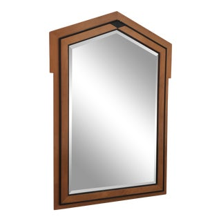 1970s Mount Airy Biedermeier Style Mirror For Sale