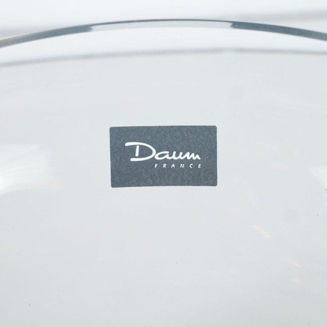 Art Deco Style Crystal and Pâte De Verre Papillon Coupe by Daum For Sale - Image 9 of 13