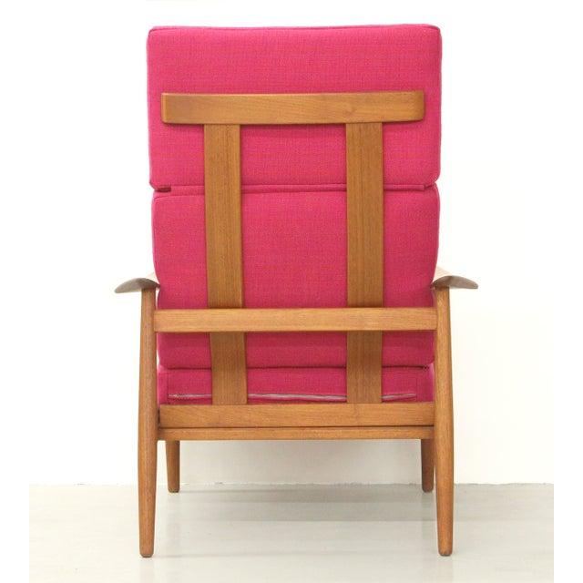 Mid-Century Modern Danish Teak Lounge Chair Arne Vodder France & Son For Sale - Image 3 of 11
