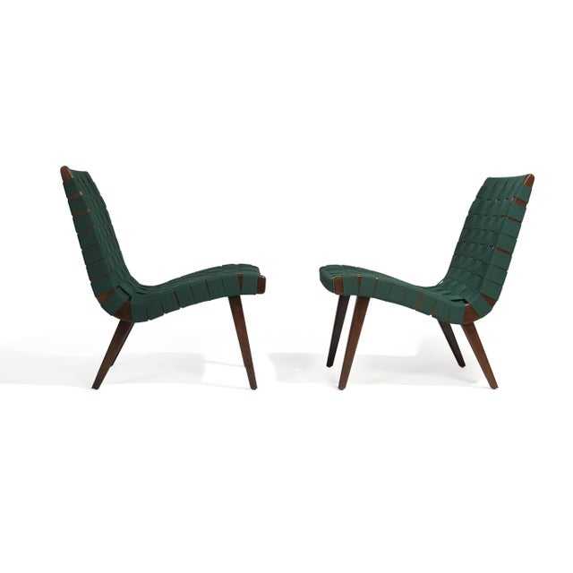 Knoll Jens Risom for Knoll Studio Lounge Chairs For Sale - Image 4 of 11