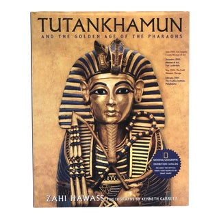 Art Book of King Tut Exhibition For Sale