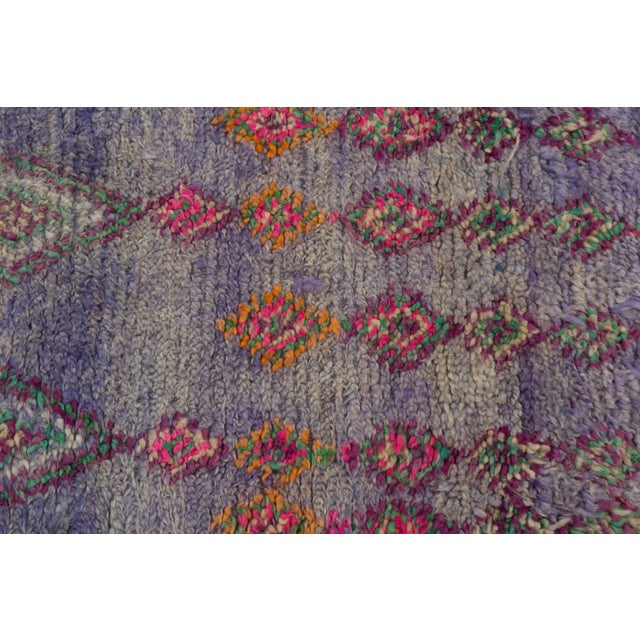 Vintage Moroccan Beni M'Guild Rug - 6′ × 10′9″ For Sale In Palm Springs - Image 6 of 10
