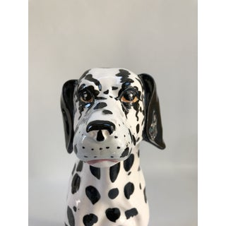 Mid-Century Large Italian Dalmatian Dog Statue Preview