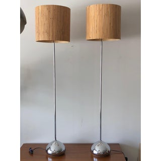 1960s Mid-Century Modern George Kovacs Floor Lamps - a Pair For Sale