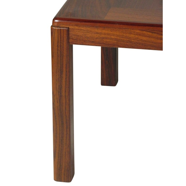 Wood 1960s Mid-Century Modern Rosewood Coffee Table For Sale - Image 7 of 9
