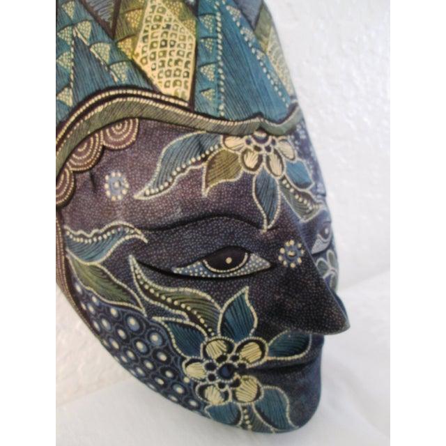 Ornate Decorative Hanging Masks - S/3 - Image 9 of 9