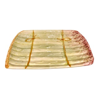 Portuguese Asparagus Platter For Sale