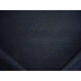 Kravet Smart 33832 Baltic Sapphire Blue Herringbone Upholstery Fabric - 21-3/8y For Sale