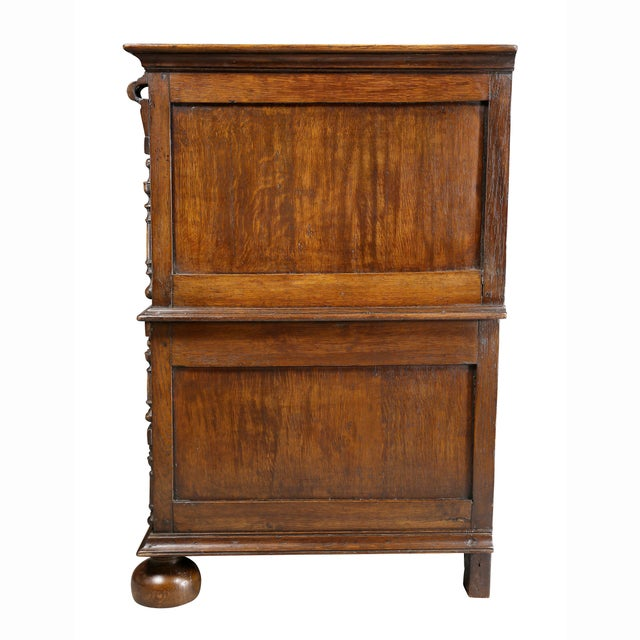 Jacobean Oak Chest of Drawers For Sale - Image 10 of 12