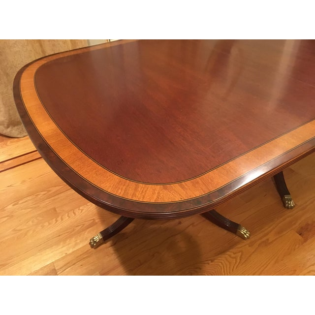 Modern Traditional Ethan Allen Dining Set - 7 Pieces For Sale - Image 3 of 5