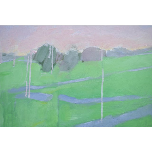 "Stephen Remick Stephen Remick ""Spring Rising"" Contemporary Painting For Sale - Image 4 of 11"