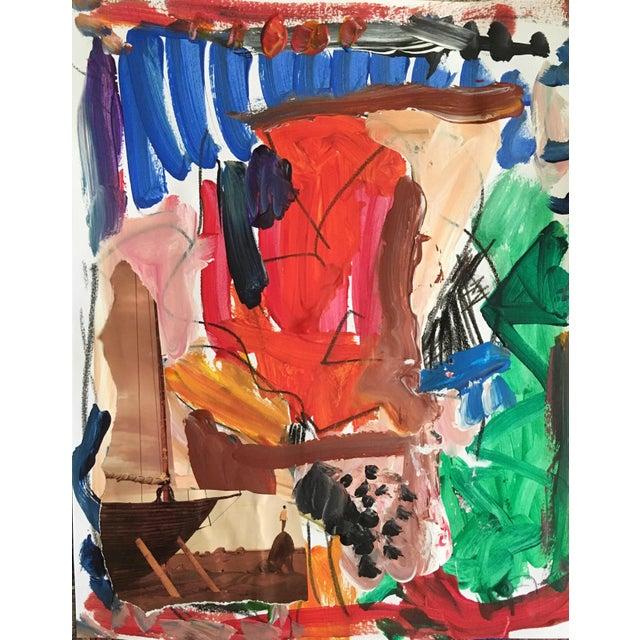 Sean Kratzert 'Traveler' Collage For Sale