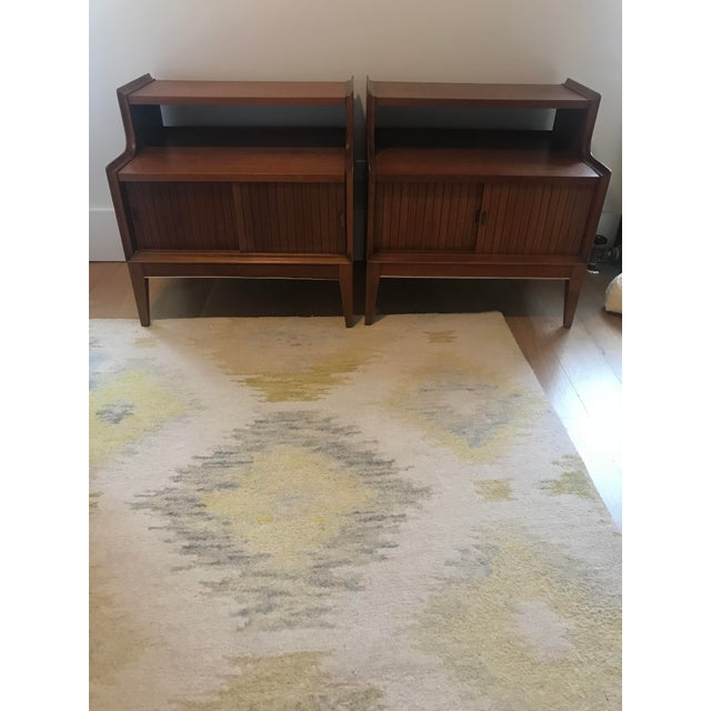 Vintage Mid-Century Modern End Tables - a Pair For Sale - Image 5 of 5