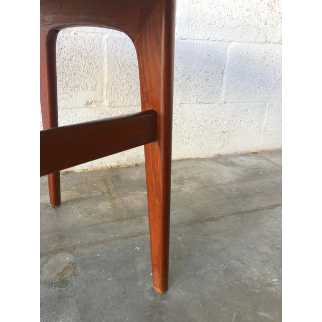 Vintage Mid-Century Danish Modern Nesting Tables (Set of Two) For Sale - Image 12 of 13