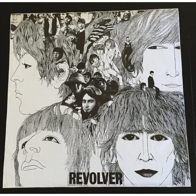 Vintage poster of original 1966 album cover. Rare large size 32 X 32.5. Good vintage condition with no tears, a few...