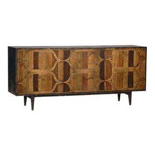 Geometric Deco Sideboard For Sale
