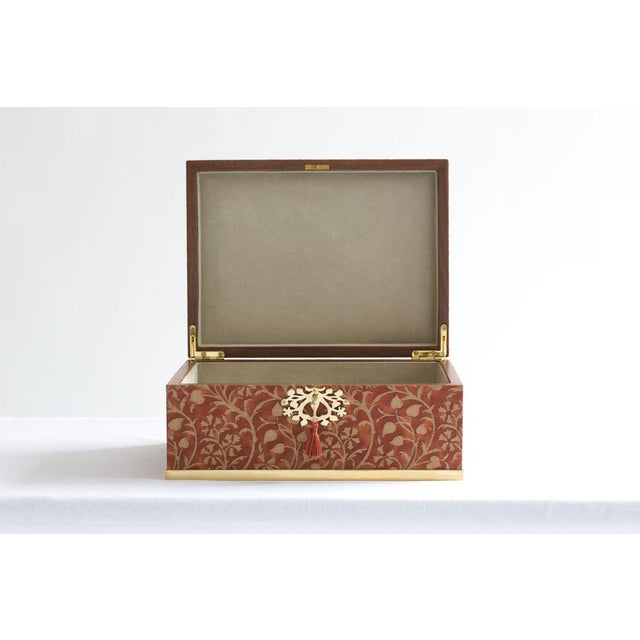 Contemporary l'Objet for Fortuny Jewelry Box in Granada For Sale - Image 3 of 7