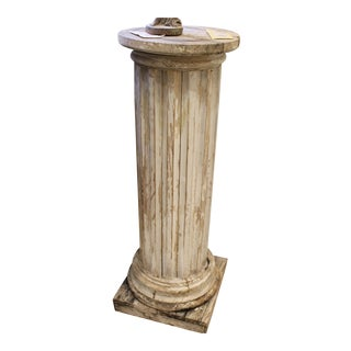 Fluted Pine Column For Sale
