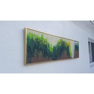 Pines Forest Expressionist Painting by Gurney Preview